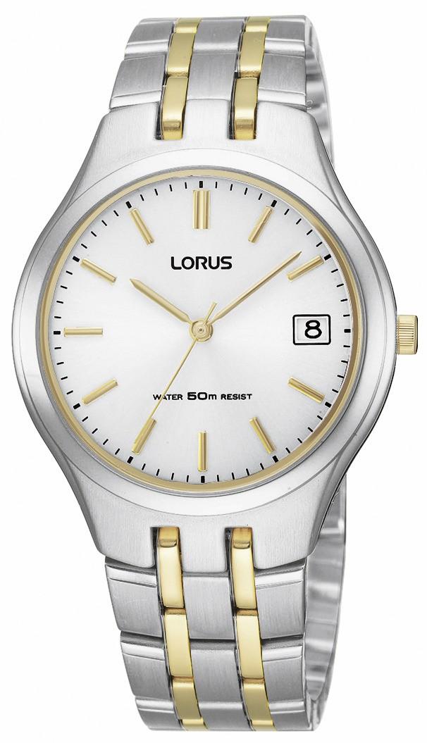 Lorus Herenhorloge Goud-zilverkleurig RXH61DX9