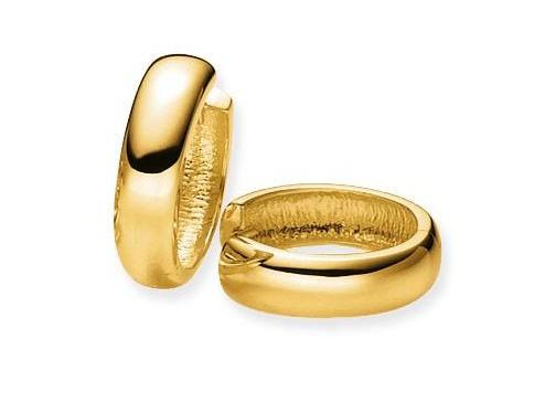 Glow Gouden Oorbellen Klapcreolen 18 mm 207.5098.18