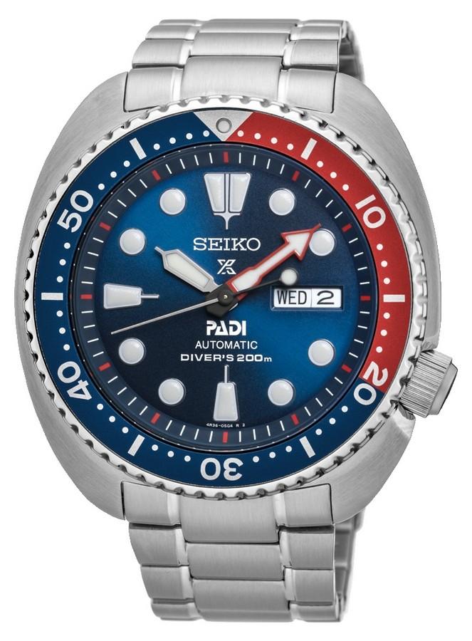 Seiko Herenhorloge 'Prospex' Diver PADI Special Edition SRPA21K1