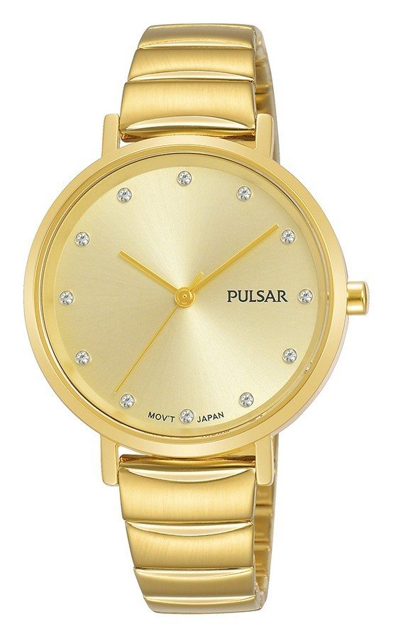 Pulsar dameshorloge Quartz Analoog 33 mm PH8406X1
