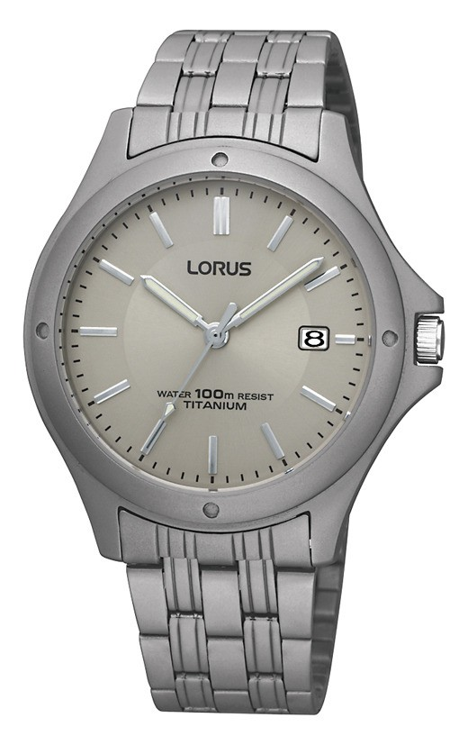 Lorus RXD75EX9 totanium herenhorloge 37 mm
