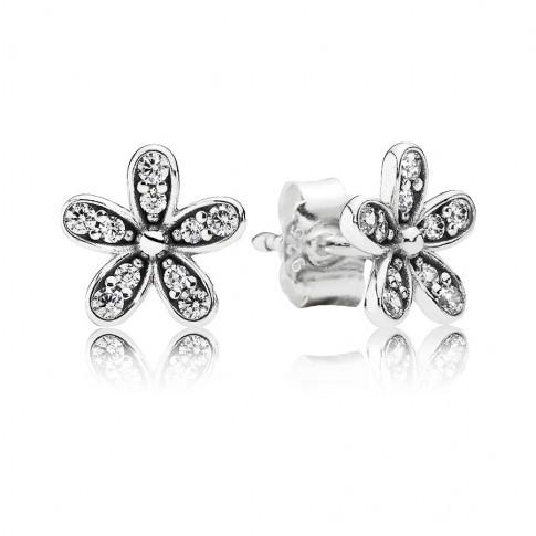 Pandora Oorknoppen zilver 'Madeliefjes' 290570CZ