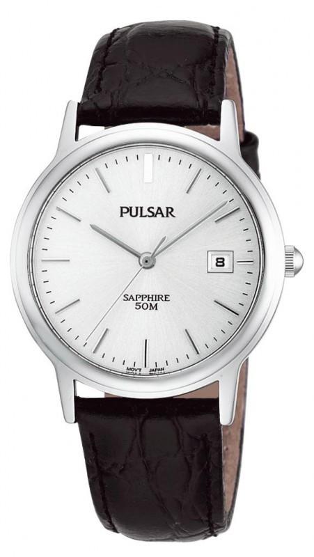 Pulsar Herenhorloge Staal-leder PXDA31X1