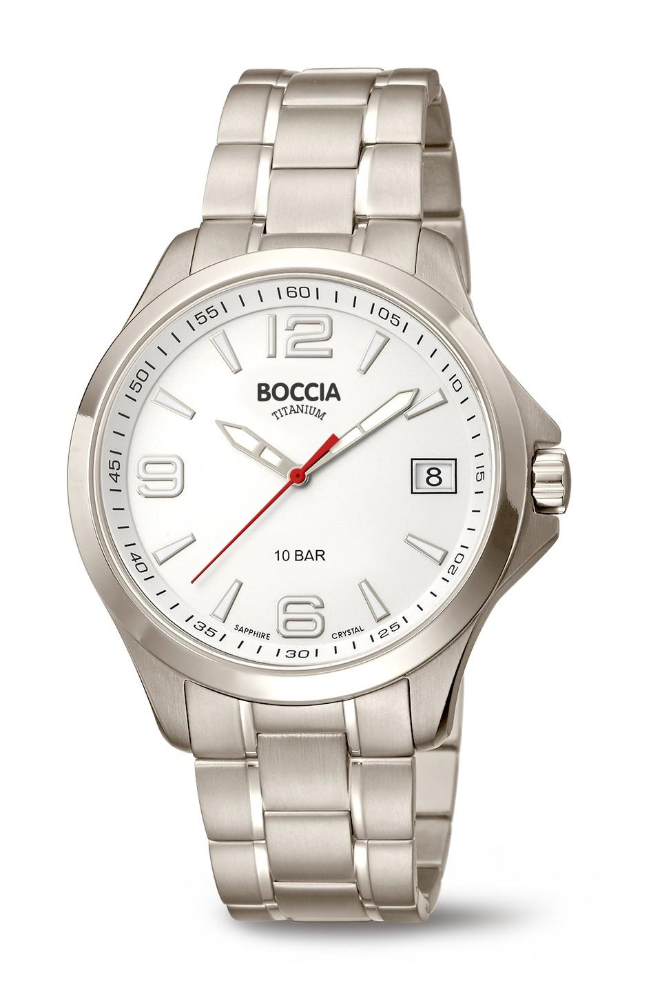Boccia 3591-06 Horloge Titanium Saffierglas 41 mm 1