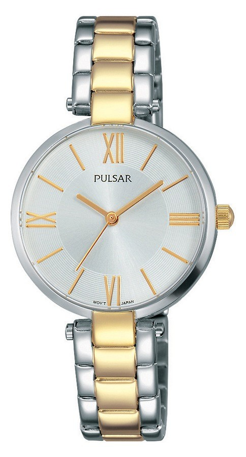 Pulsar Dameshorloge Goud- en zilverkleur & 3 ATM PH8240X1