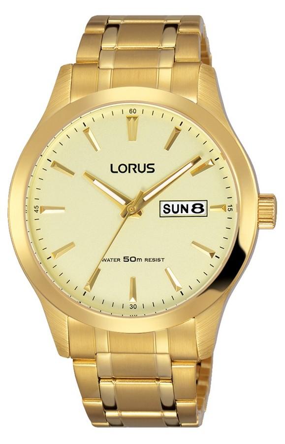 Lorus RXN22DX9 Herenhorloge goudkleurig 40 mm