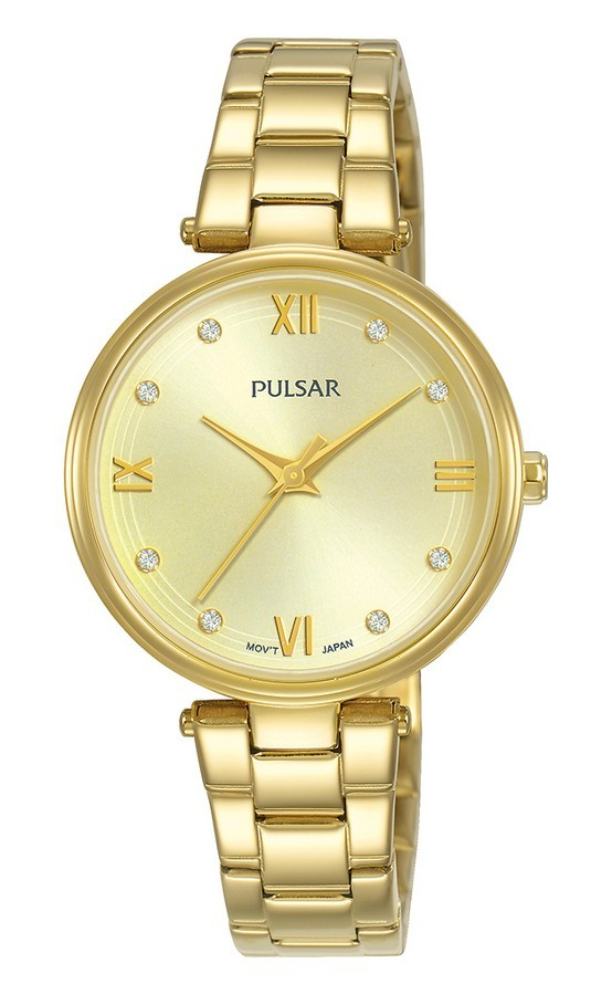 Pulsar dameshorloge Quartz Analoog 30 mm PH8458X1