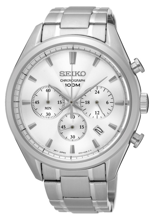 Seiko Herenhorloge Chronograaf SSB221P1