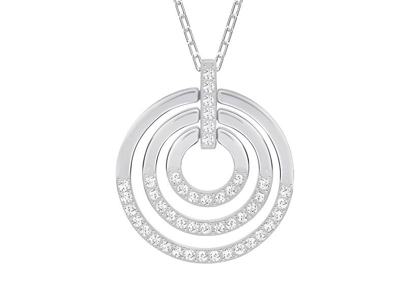 Swarovski Ketting Circle White-Silver 5290187