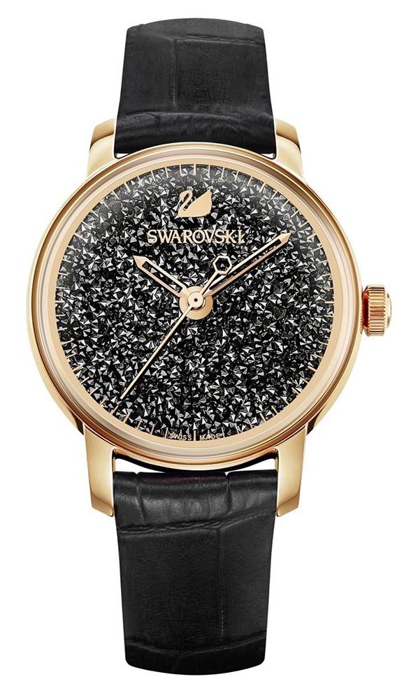 Swarovski Dameshorloge Crystalline Hours Black 5295377