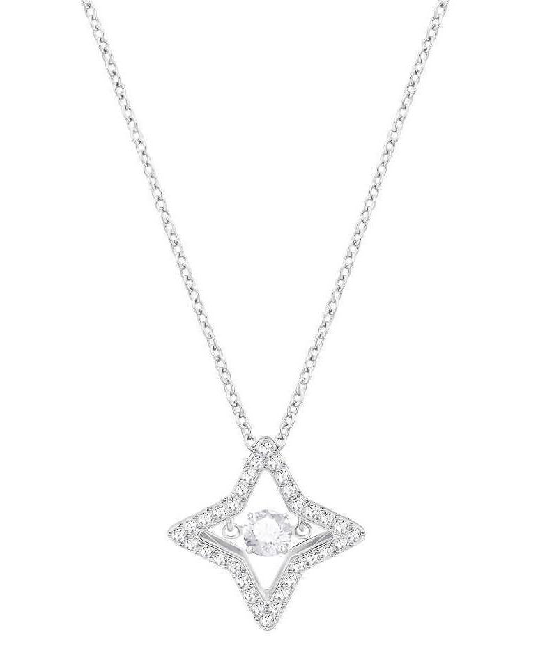 Swarovski Ketting Sparkling Dance Star zilverkleurig 5349654
