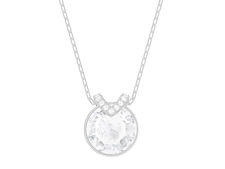 Swarovski Ketting Bella V White-Silver 5370193