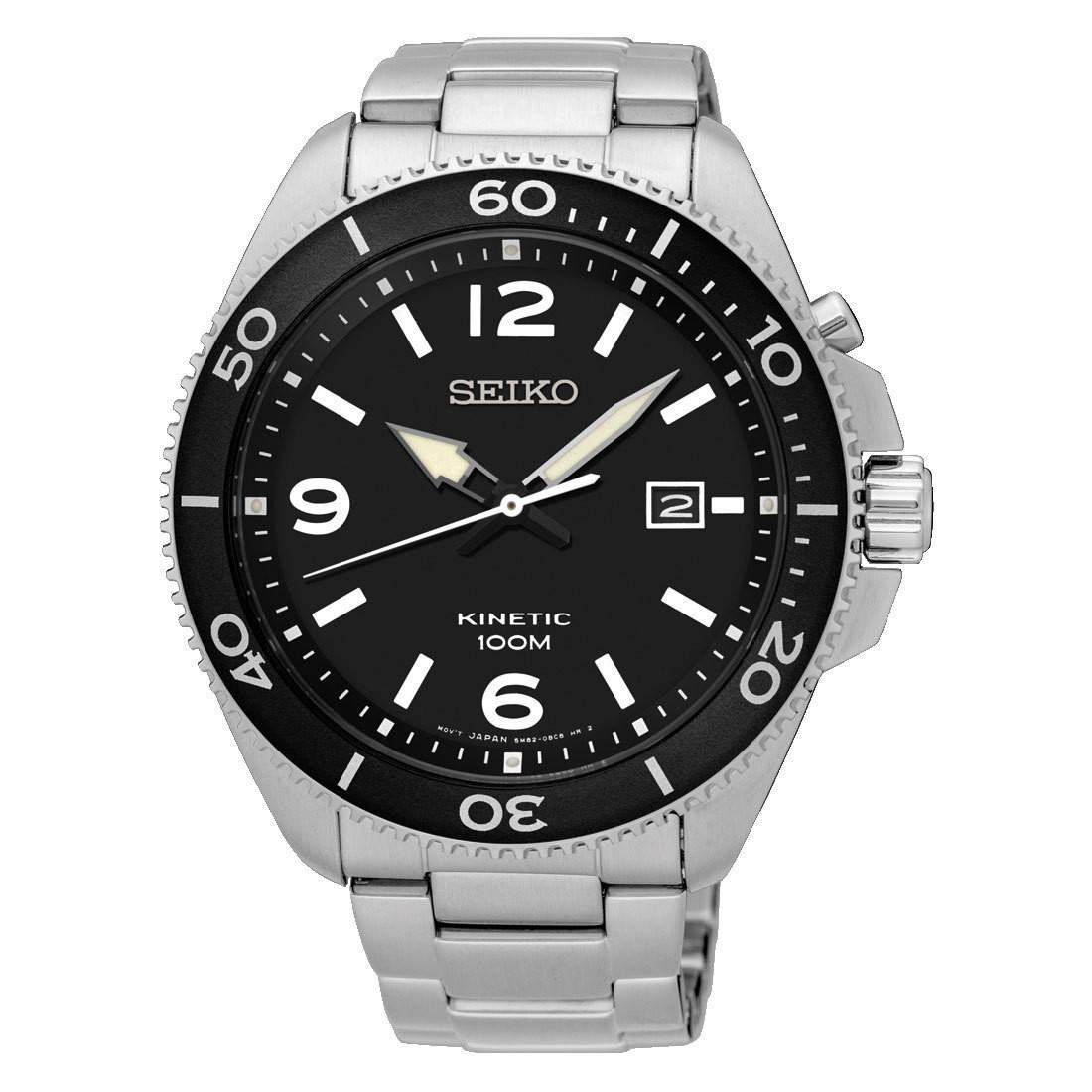 Seiko SKA747P1 Heren kinetisch horloge