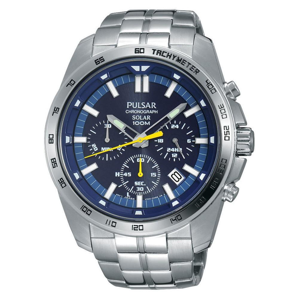 Pulsar PZ5001X1 Heren Chronograaf Solar horloge