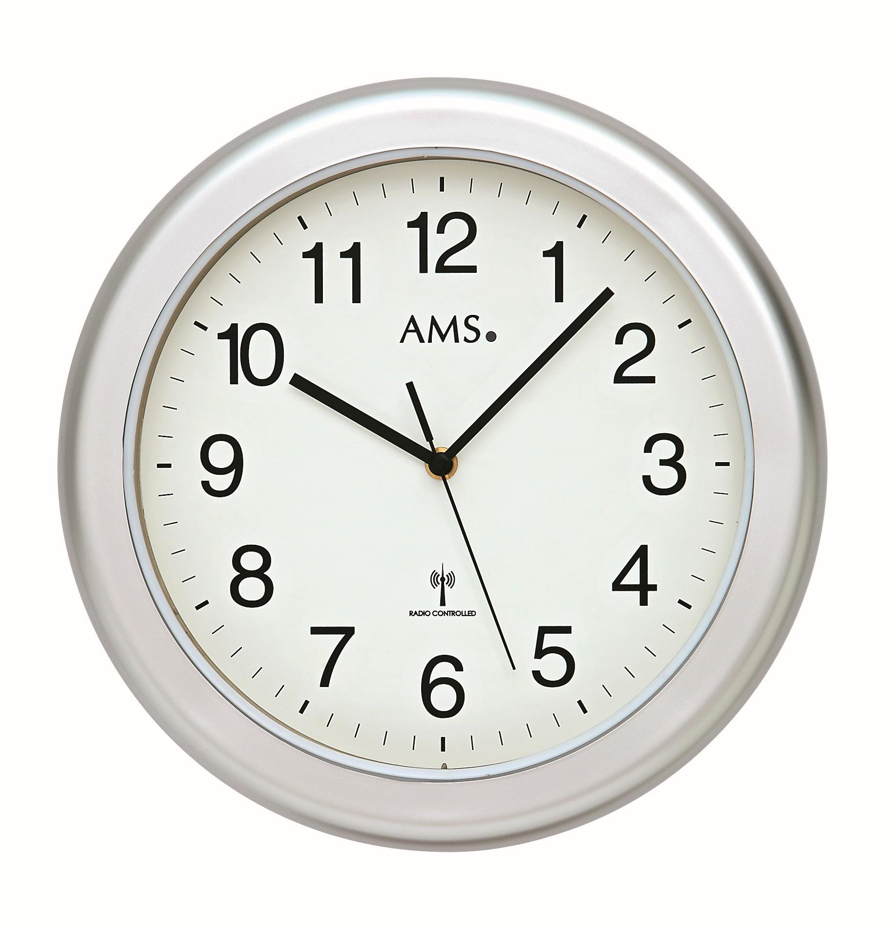 AMS 5956 Badkamerklok zender gestuurd, radiocontrolled