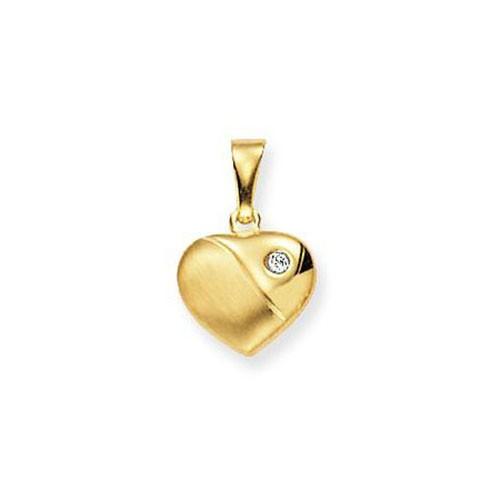 Glow 230.0022.00 Gouden Hanger/Bedel Hart