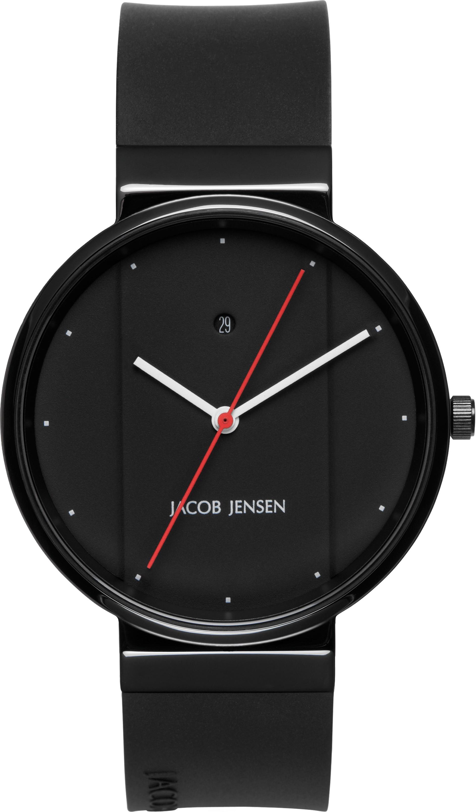 "Watch 773 Stainless Steel Jacob Jensen ""new Line"". Horloge"