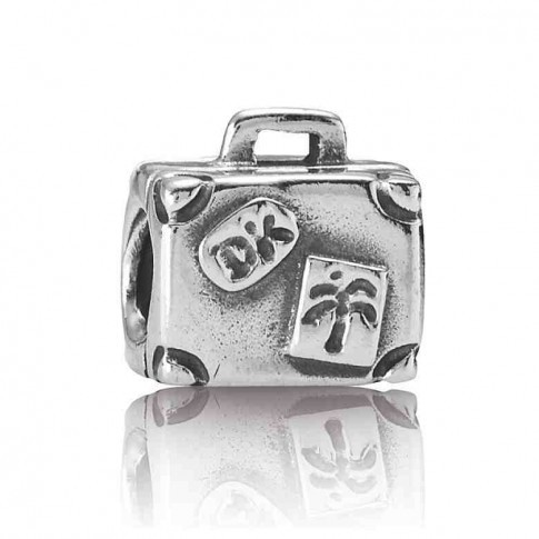 Pandora Bedel zilver Reiskoffer 790362