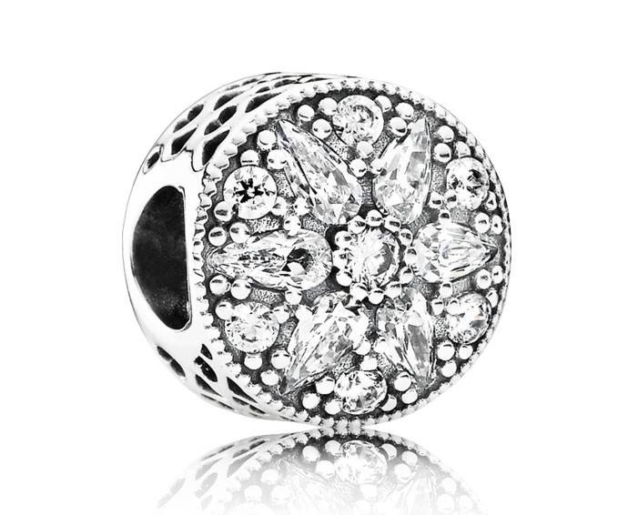 Pandora Kerstbedel zilver 'Kerstster' 791762CZ