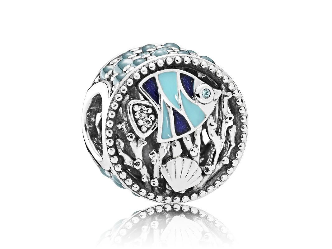 Pandora Bedel zilver Ocean Life' 792075ENMX