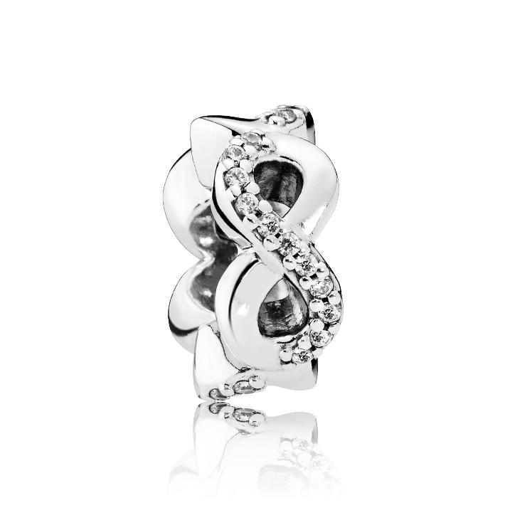 Pandora 792101CZ Spacer zilver 'Oneindige Liefde'