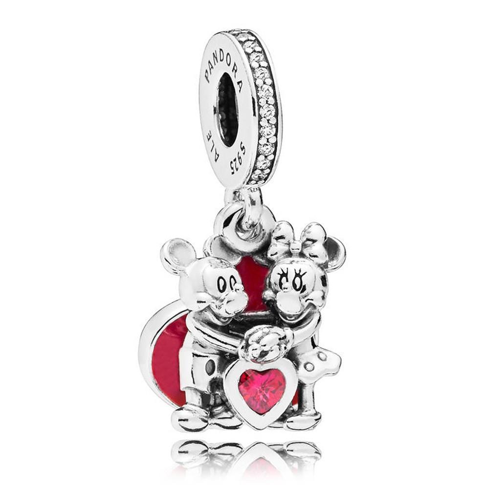 Pandora 797769CZR Disney zilver Mickey and Minnie with Love