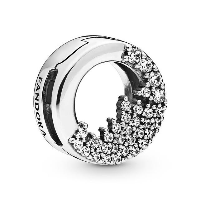 Pandora Reflexions 798475C01 Bedel/Clip zilver Sparkling Icicles