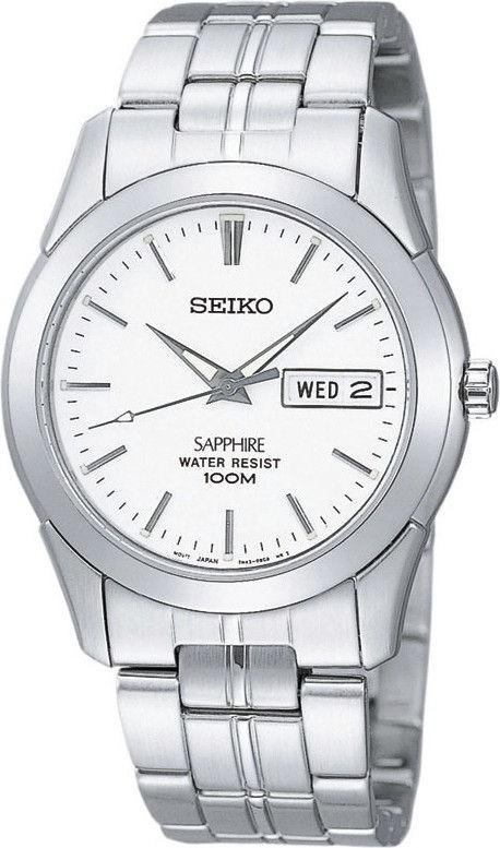 Seiko Herenhorloge Zilverkleurig SGG713P1