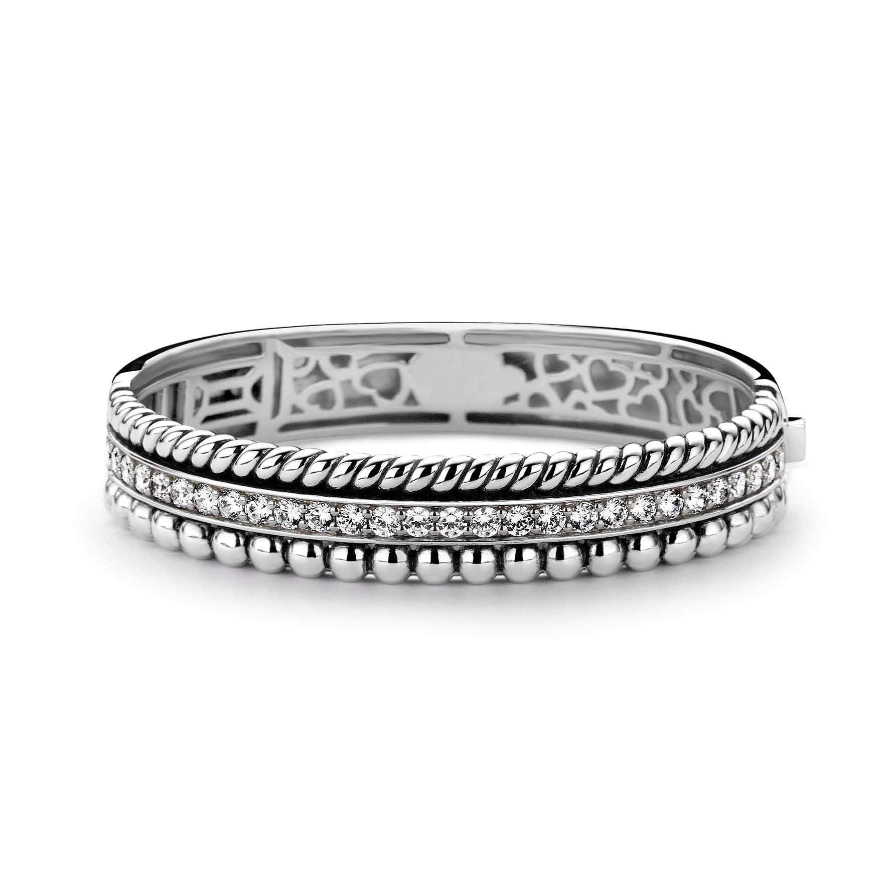 TI SENTO - Milano 2776ZI Armband zilver 60 mm