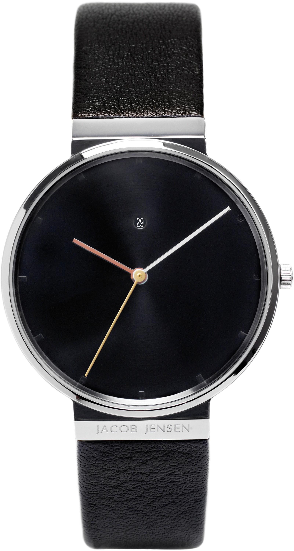 Jacob Jensen 842 Horloge dimension saffierglas 38 mm