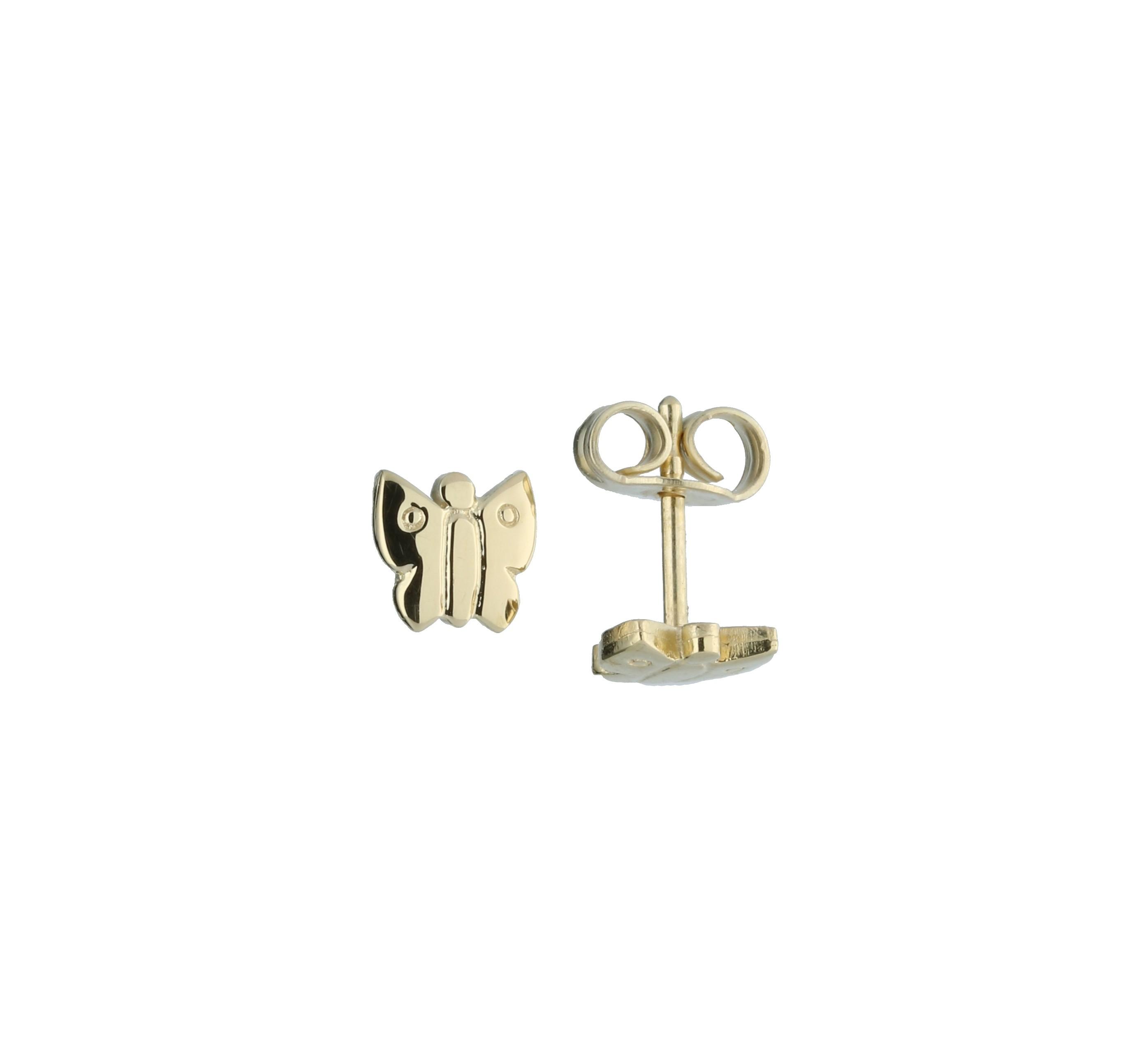 Glow Gouden Kinderoorknopjes - Vlinder  206.0486.00
