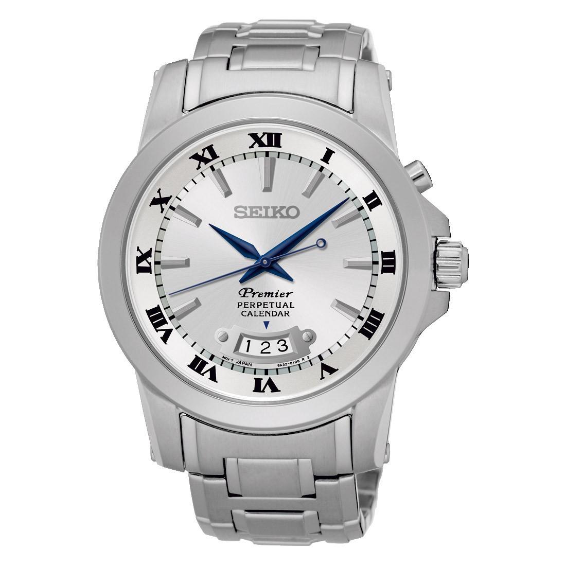 Seiko SNQ145P1 Premier horloge