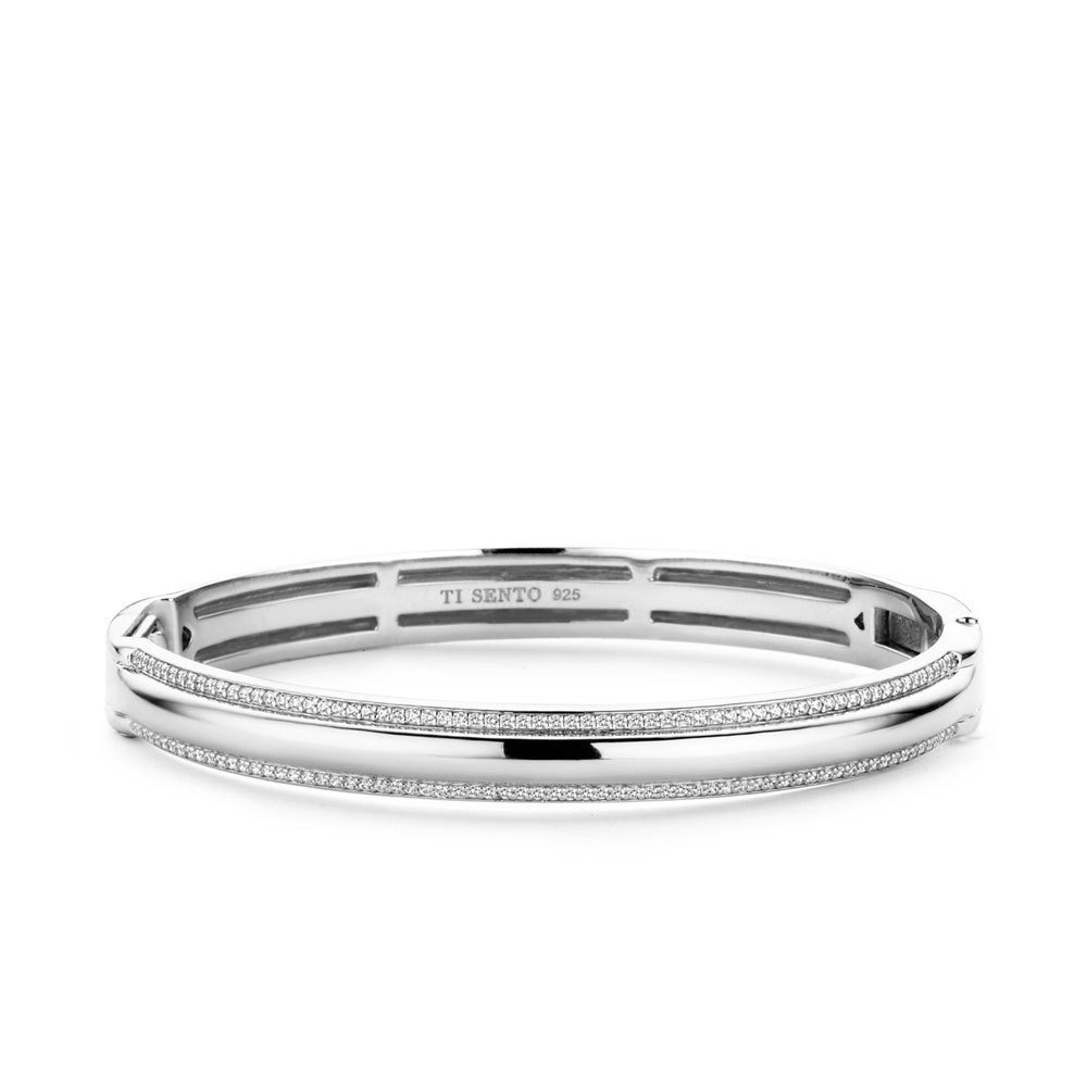 Ti Sento - Milano 2897ZI Armband zilver met zirconia