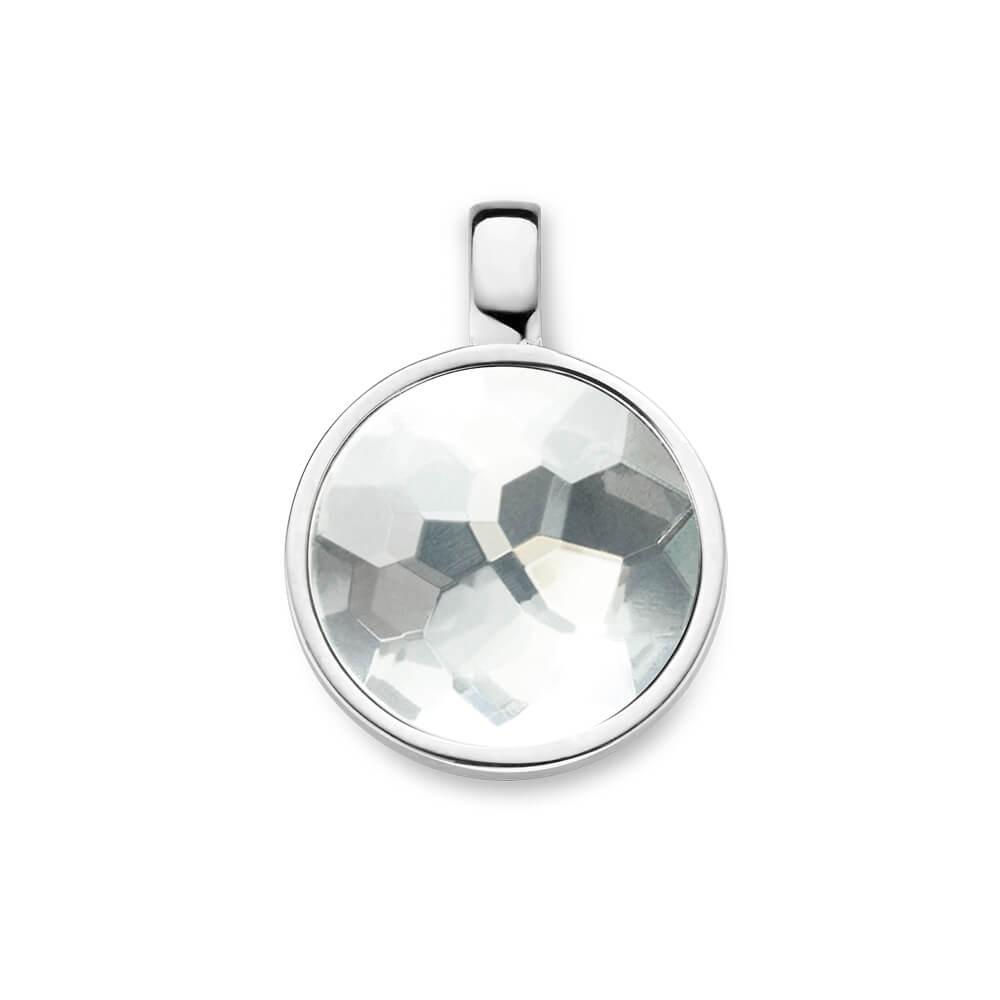 Mi Moneda Pendant Xs Formentera 925 Silver With  Xs Moneda Munthouder Maat XS PEN-FOR-01-XS