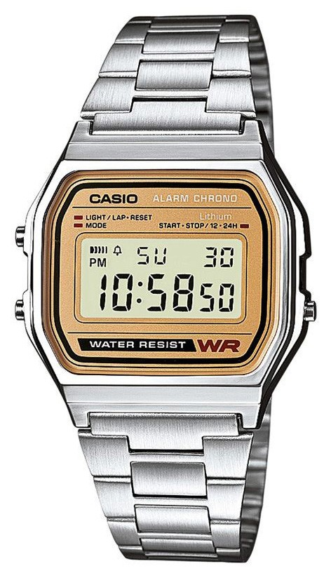 Casio Horloge Classic Herenhorloge A158WEA-9EF