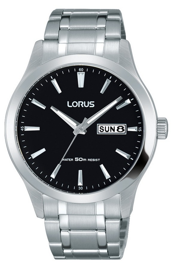 Lorus Herenhorloge Zilverkleurig RXN23DX9