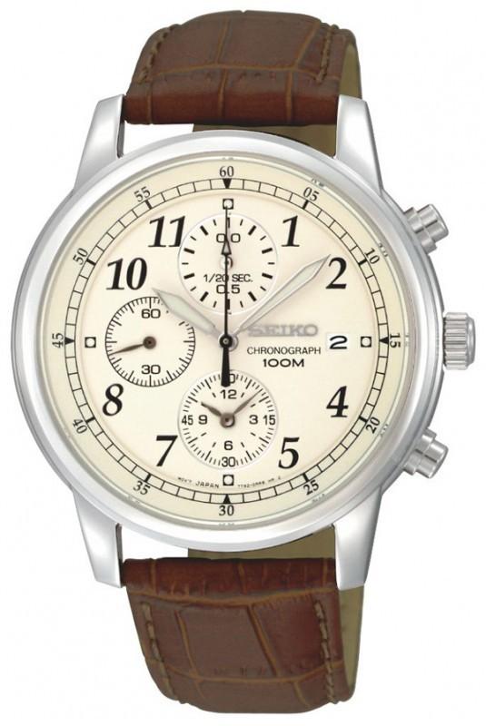 Seiko SNDC31P1 Herenhorloge chronograaf 40 mm