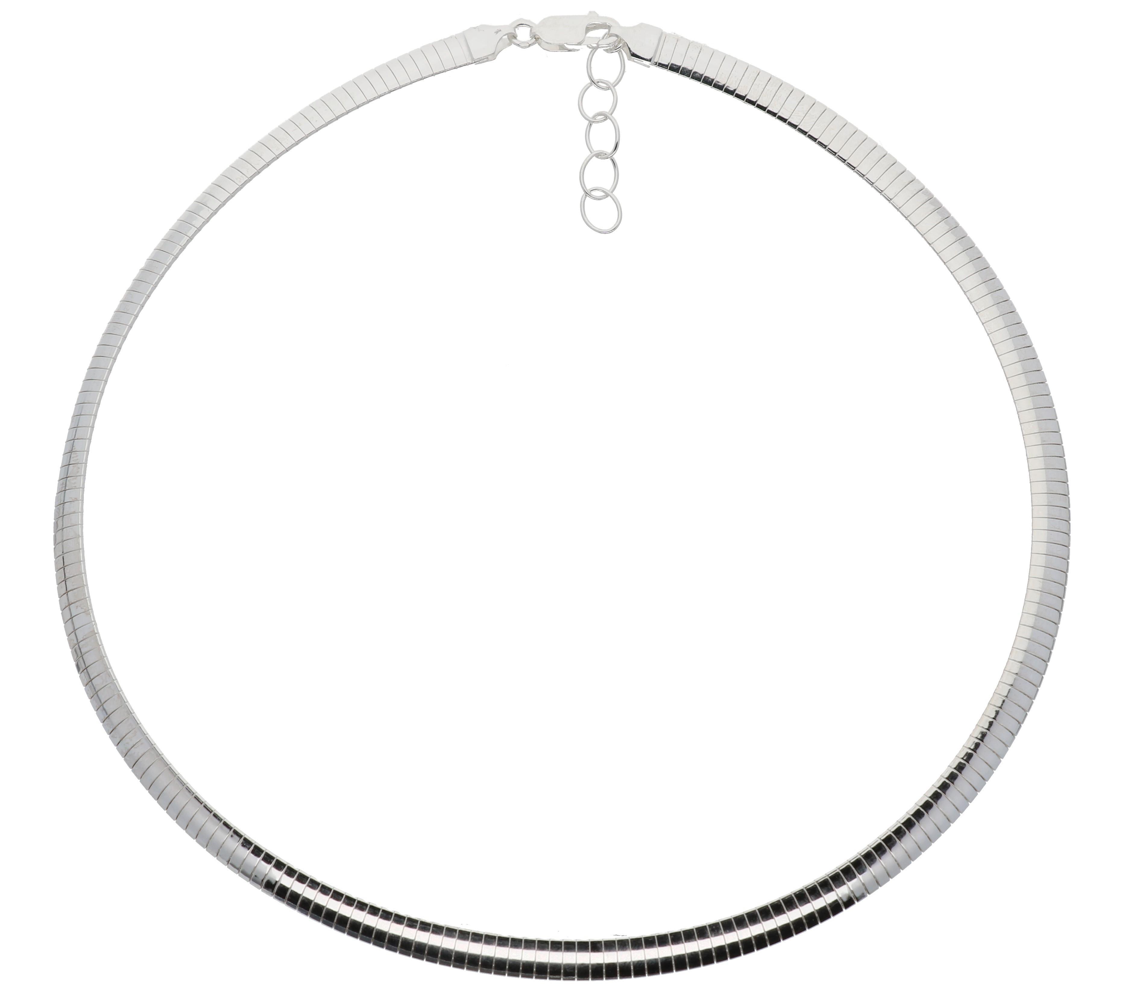 Zilveren omegacollier best basics Halfrond 6.0 mm 103.7039.43