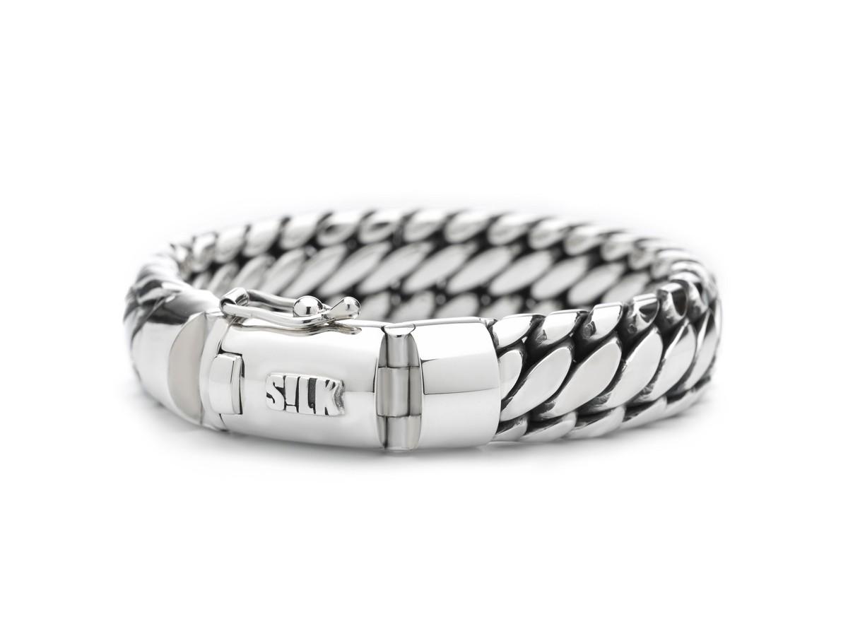 SILK Jewellery Armband zilver 'Shiva' 21 cm 391