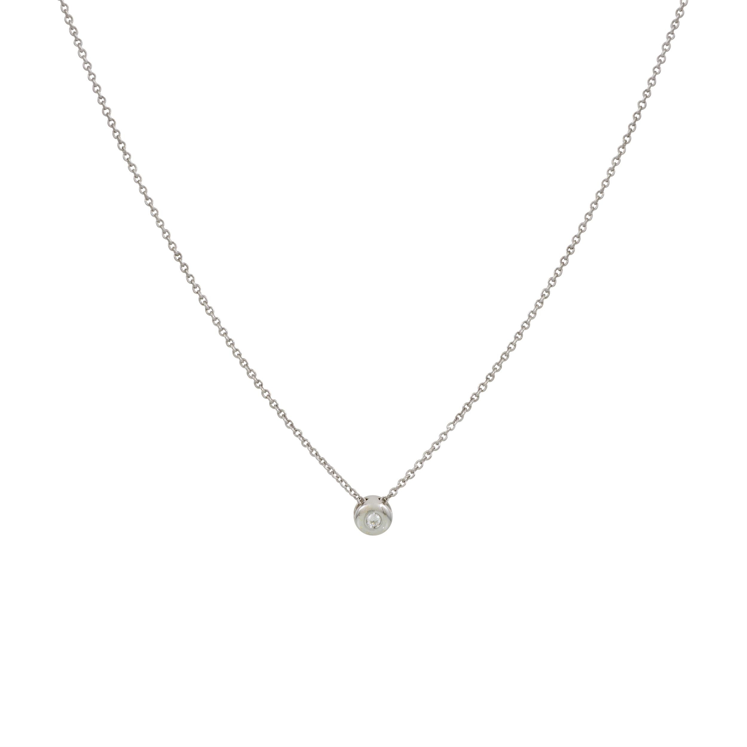 Diamant - 0.03 ct - gh/si3 45 cm - ankerschakel - diamant - 0.03 ct - gh/si3 202.3010.45
