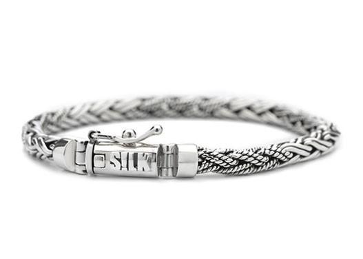 SILK Jewellery Armband zilver Shiva 19 cm 372.19