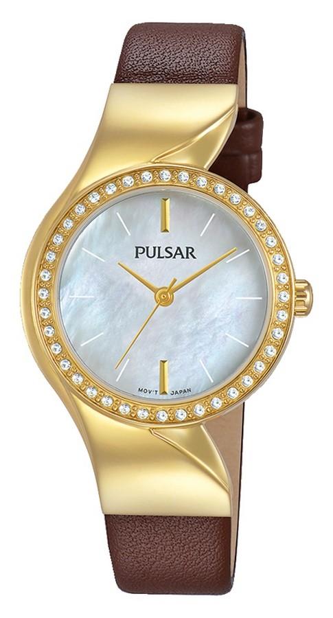 Pulsar Dameshorloge Attittude Swarovski kristallen PH8268X1