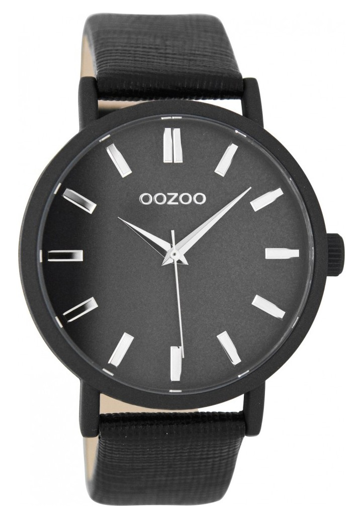 OOZOO Horloge Timepieces Collection 42 mm zwart C8334