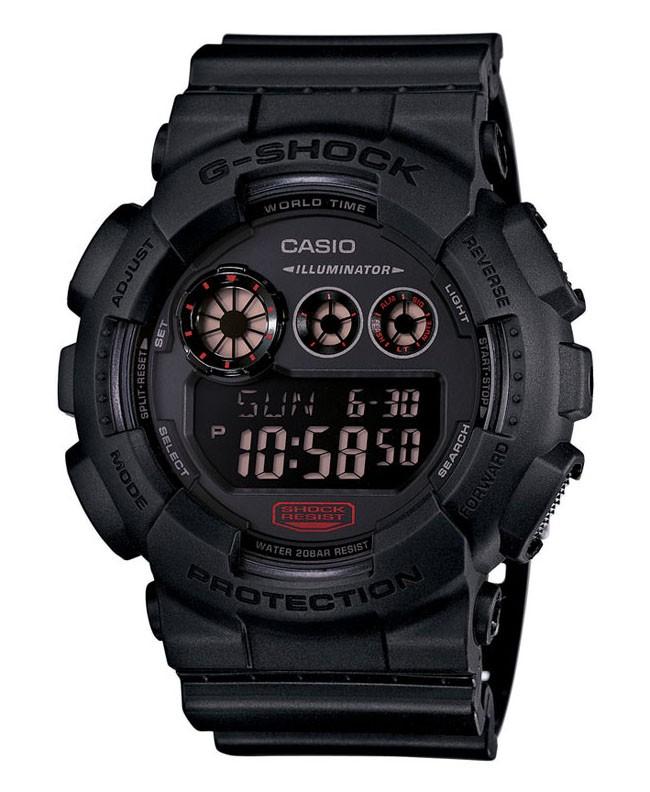 Casio G-Shock Mission met Display Flitser en Chronograaf GD-120MB-1ER