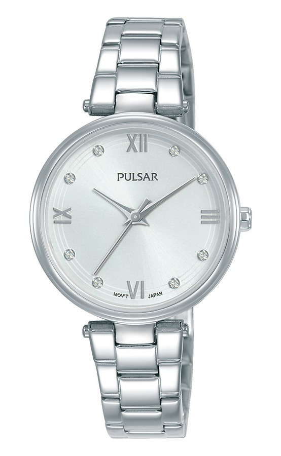 Pulsar dameshorloge Quartz Analoog 30 mm PH8453X1