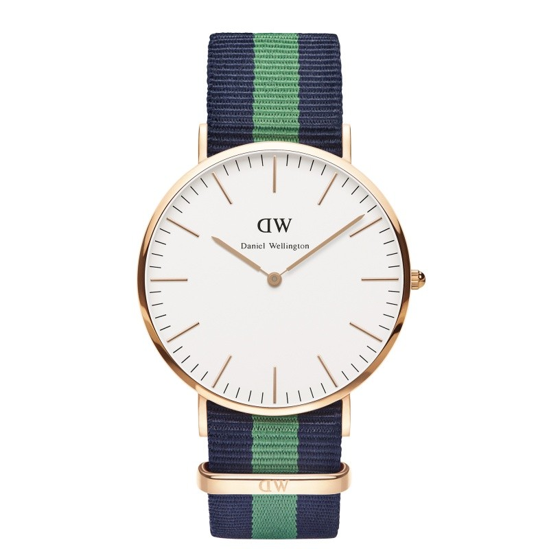 Daniel Wellington Horloge Classic Warwick rose 40 mm DW00100005