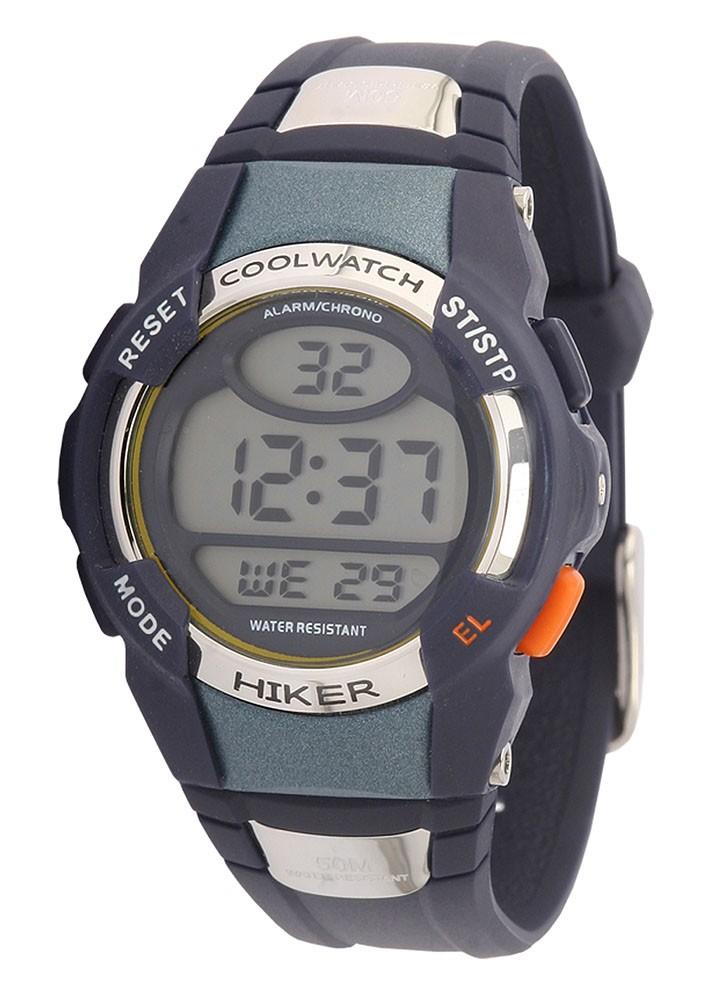 Coolwatch CW.194 kinderhorloge 'Hiker' Digitaal blauw 35 mm