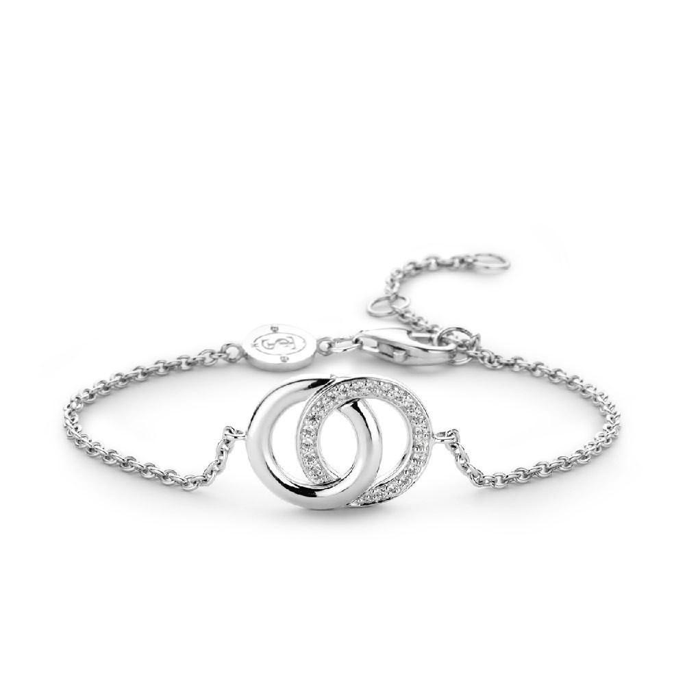 Ti Sento - Milano 2790ZI zilveren armband 18-21 cm