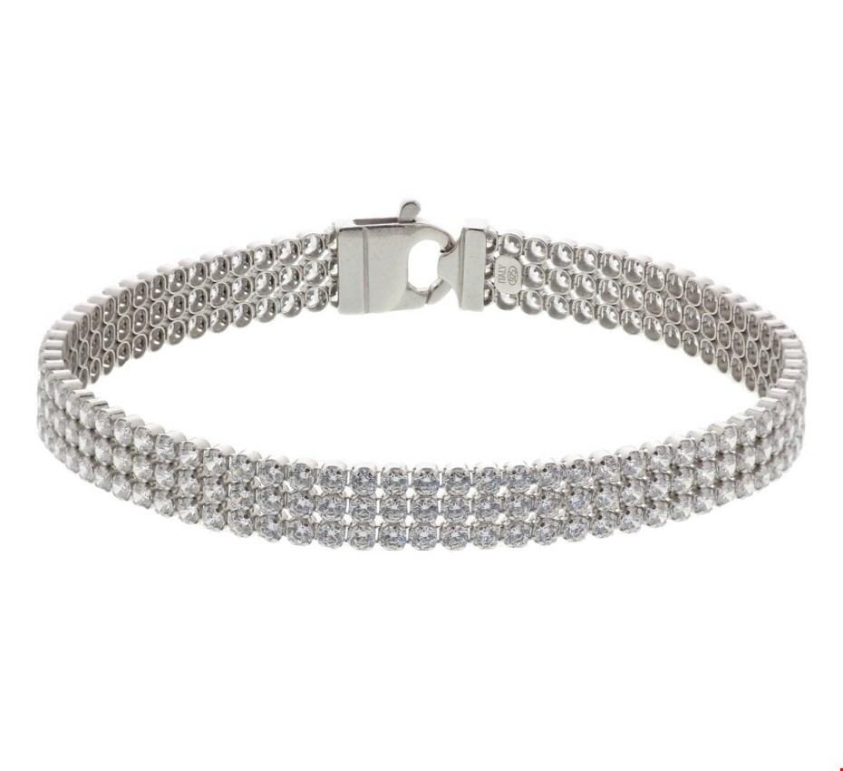 Tennisarmband Zilver 7 mm 18 cm