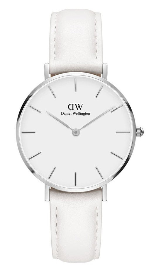 Daniel Wellington Horloge 'Petit Bondi' white/silver 32 mm DW00100190